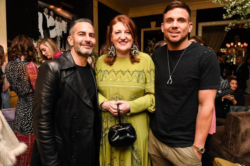 Marc Jacobs, Glenda Bailey, Charly DeFrancesco