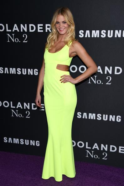 """NEW YORK, NY - FEBRUARY 09: Model Erin Heatherton attends the """"Zoolander 2"""" World Premiere at Alice Tully Hall on February 9, 2016 in New York City. (Photo by Dimitrios Kambouris/Getty Images)"""