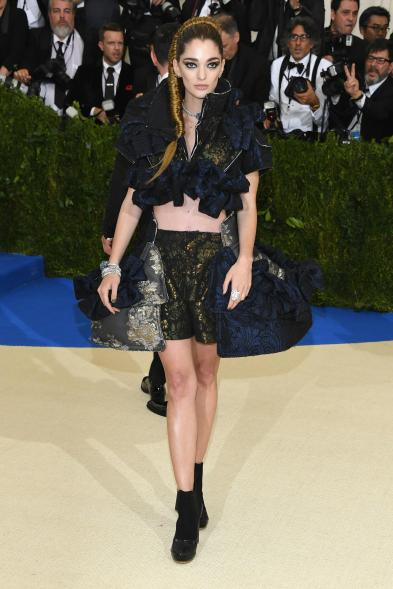 """NEW YORK, NY - MAY 01: Sophia Sanchez de Betak attends the """"Rei Kawakubo/Comme des Garcons: Art Of The In-Between"""" Costume Institute Gala at Metropolitan Museum of Art on May 1, 2017 in New York City. (Photo by Dia Dipasupil/Getty Images For Entertainment Weekly)"""
