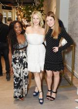 NEW YORK, NY - JUNE 15: Nneya Richards, Sophoe Elgort and Abigail Jorgensen attends the Monica Vinader x GLAM4GOOD Get Your Glam On Party on June 15, 2017 in New York City. (Photo by Nicholas Hunt/Getty Images)