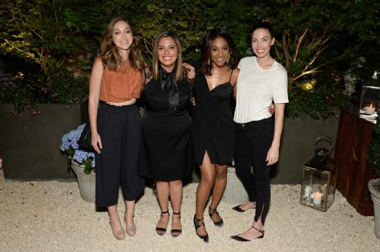 NEW YORK, NY - JUNE 13: WIC Performers (L-R) Jamie Lee, Cristela Alonzo, Tiffany Haddish and Whitney Cummings attend as ELLE hosts Women In Comedy event with July Cover Star Kate McKinnon at Public Arts on June 13, 2017 in New York City. (Photo by Andrew Toth/Getty Images for ELLE)