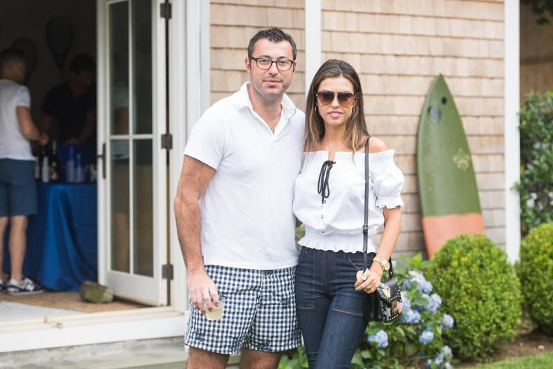 SAG HARBOR, NY - JULY 15: Roman Shuckman and Rita Shuckman attend The Daily Summer's 3rd annual Boys of Summer Party on July 15, 2017 in Sag Harbor, New York. (Photo by Presley Ann/Patrick McMullan via Getty Images)