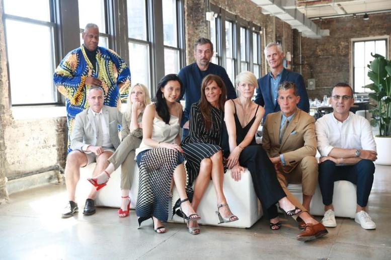 Andre Leon Talley, Thom Browne, Laura Brown, Michelle Lee, Nick Sullivan, Julie Gilhart, Kate Lanphear, Malcolm Carfrae, Stefano Tonchi, Steven Kolb