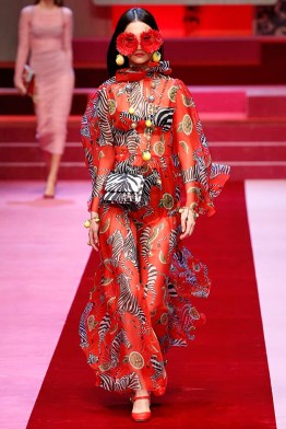 Dolce Gabbana Milan Fashion Week Spring Summer 2018 Milan September 2017