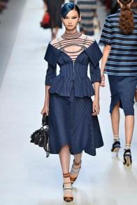 Fendi Milan Fashion Week Spring Summer 2018 Milan September 2017