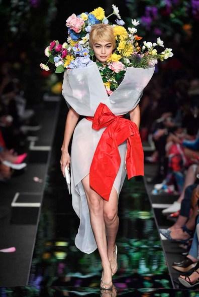 Moschino Milan Fashion Week Spring Summer 2018 Milan September 2017