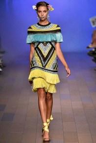 Naeem Khan New York Fashion Week Spring Summer 2018 NY September 2017