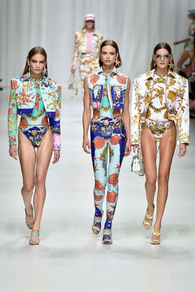 Versace Milan Fashion Week Spring Summer 2018 Milan September 2017