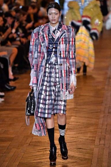 Thom Browne Paris Fashion Week Spring Summer 2018 Paris Sept-Oct 2017