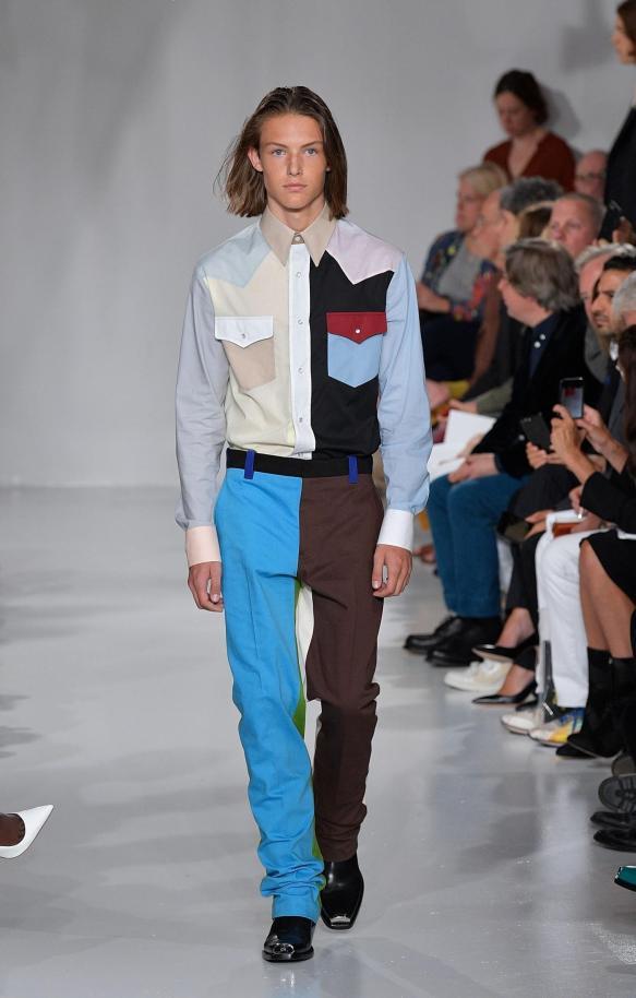 Calvin Klein spring 2018 (Getty Images)