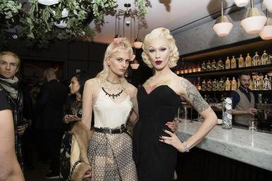 Veronika Vilim and Miss Fame (Hannah Turner-Harts)