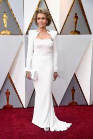 Jane Fonda in Balmain (Getty Images)