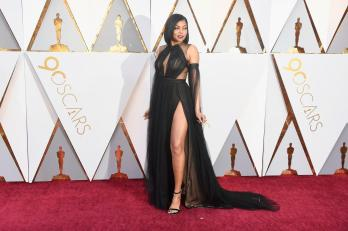 Taraji P. Henson in Vera Wang Collection (Getty Images)