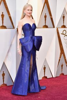 Nicole Kidman in Armani Prive (Getty Images)