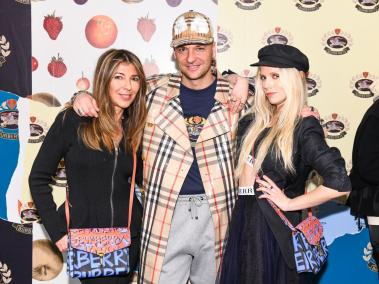 Nina Garcia, Julien Boudet, and Theodora Richards
