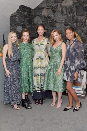 Amanda Seyfried, Kate Bosworth, Christy Turlington Burns, Mena Suvari and Naomie Harris