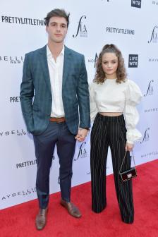 Jacob Elord and Joey King (Getty Images)