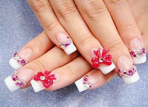 Beautiful 3d Nail Art Designs For S