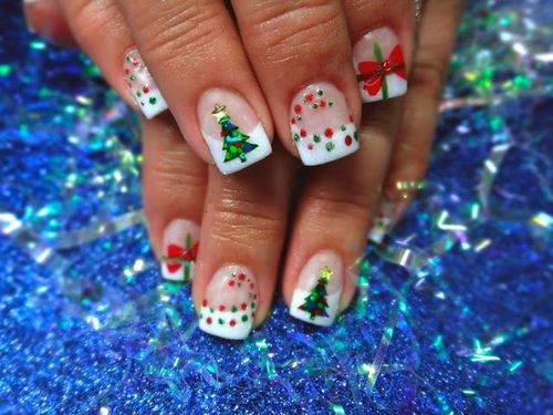 30 Fabulous Acrylic Nail Art Designs And Ideas 2017 Fashion Lovely Cute Christmas