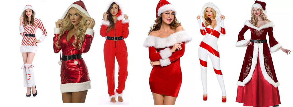 11 Beautiful, Unique and Trendy Santa Claus Costumes for women