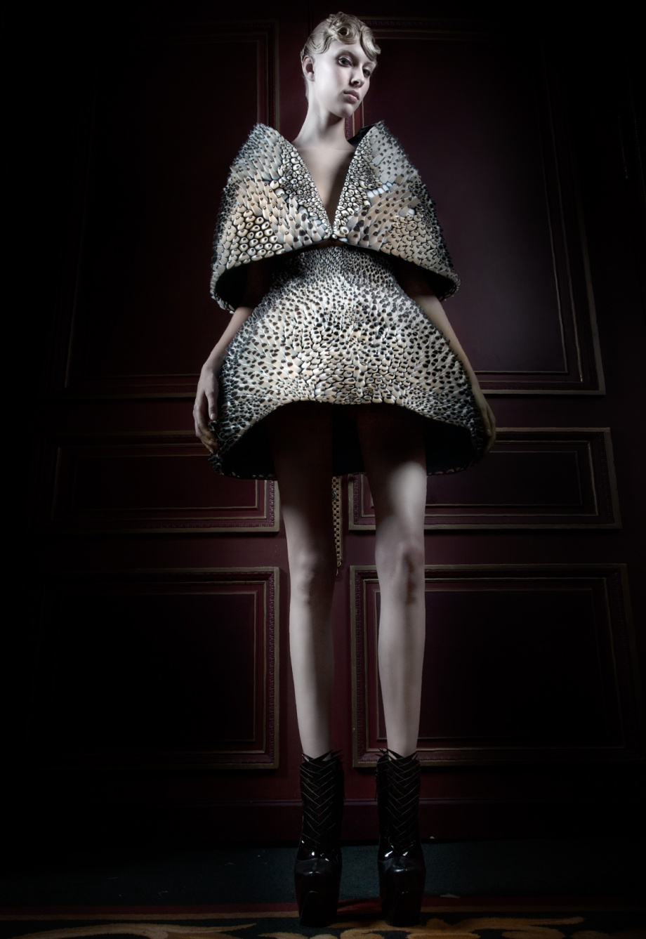 Iris van Herpen Voltage Jan 13 - Additive Fashion