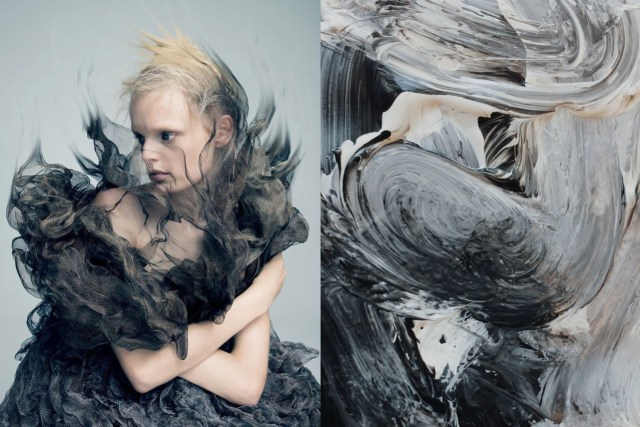 Match #243Hanne Gaby Odiele photographed by Pierre Debusschere for A Magazine Curated by Iris Van Herpen