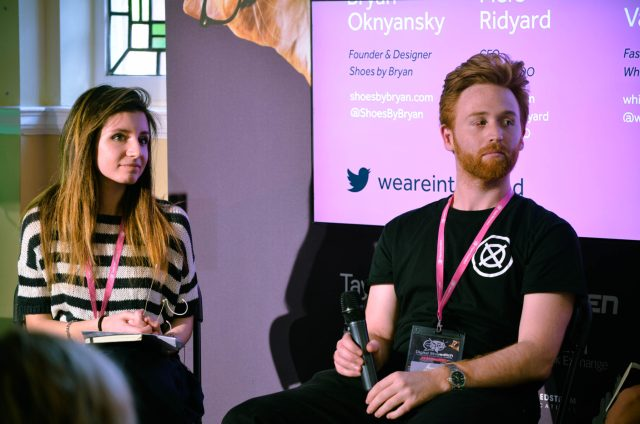 Kristina Dimitrova and Piers Ridyard