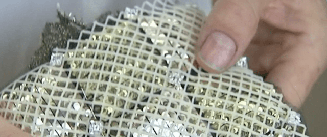 3D Printed Parts On Chanel Suit