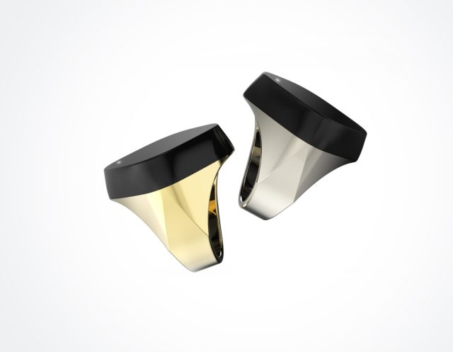 Gold&Titanium with LED