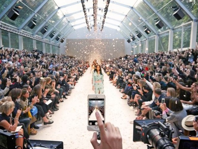 Burberry Using Technology