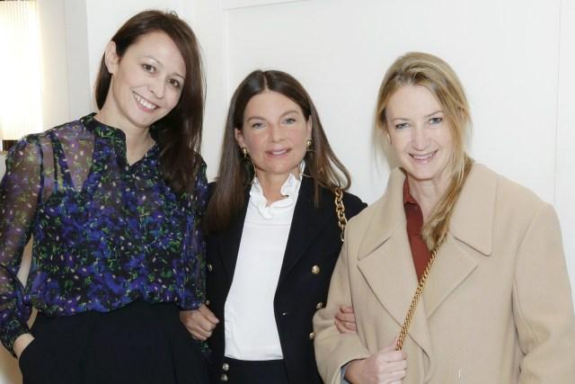 Ladies of Fashion; Caroline Rush, Natalie Massenet and Anya Hindmarch