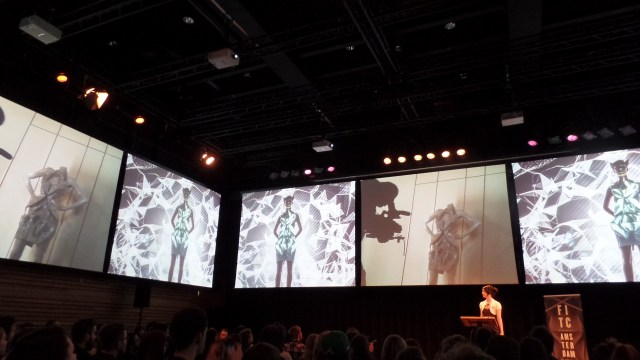 Anouk Wipprecht at FITC Amsterdam