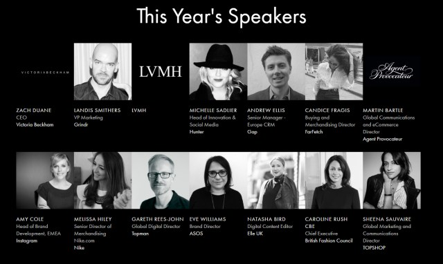 Decoded London 2016 Speakers