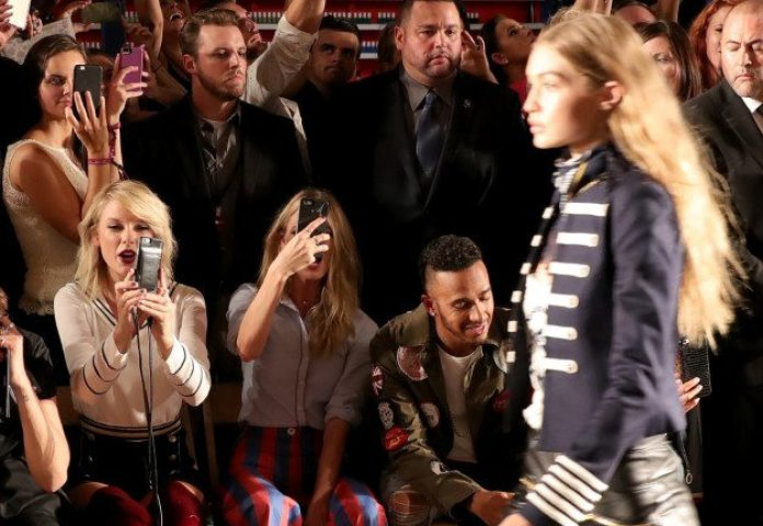 The FROW Tommy Hilfilger NYFW Runway