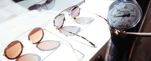 KREWE's handmade quality combines optimum lenses for complete eye protection, Italian acetate and premium hinges through our 100% handmade process.