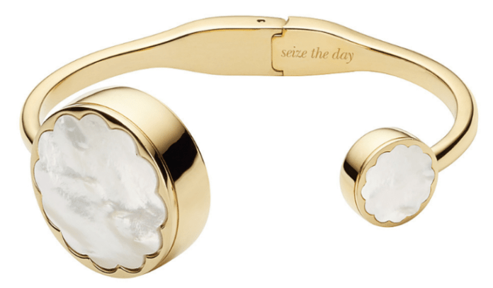 Kate Spade's Mother Of Pearl Fitness Tracker Bangle