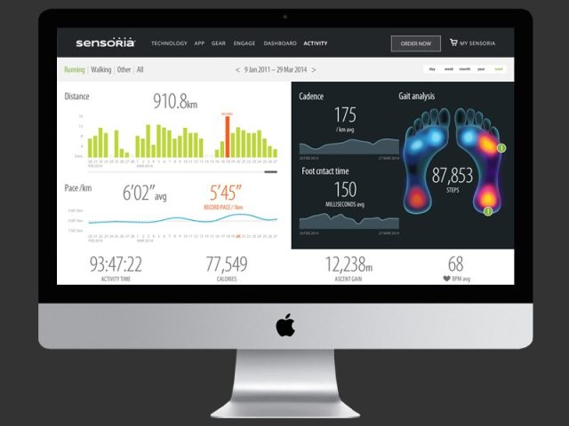 CES2017 VIVOBAREFOOT IoT-Enabled Running Shoe Powered By Sensoria