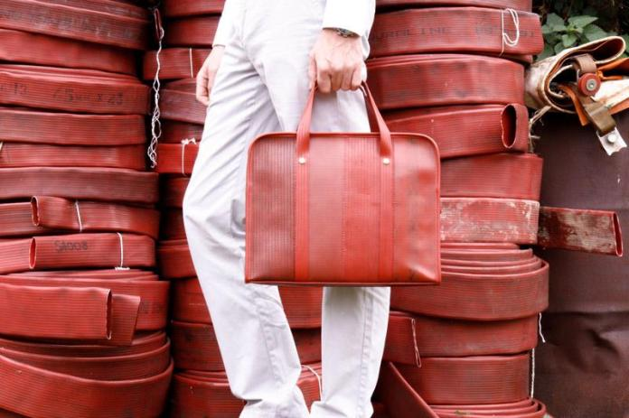 Elvis & Kresse, Transforming Fire Hoses Into A Luxury Material