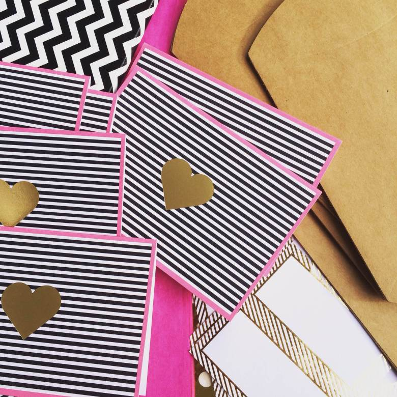 Heart & Stripe Cards, Target, $3.99