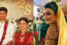 Actress Anandhi Wedding Photos