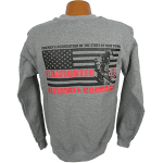 """Red Line Series"" Full Flag Sweatshirt"