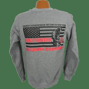 """Red Line Series"" Full Flag Sweatshirt"