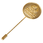 Jewelry – Stick Pin with Gold logo