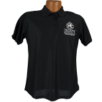 """Red Line Series"" Golf Shirt – Womens Black"