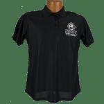 """Red Line Series"" Golf Shirt – Womens Black"