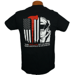 """Red Line Series"" – Tee Shirt with Fireman"