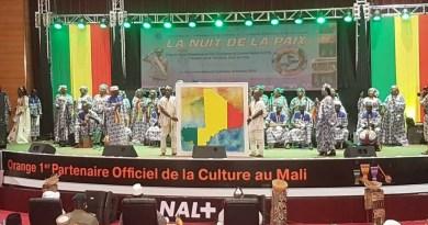 Le ministre Andogoly Guindo lors de la célébration de la ''Nuit de la paix '': « La culture demeure l'alternative la plus efficace pour préparer les esprits à cultiver durablement la paix »