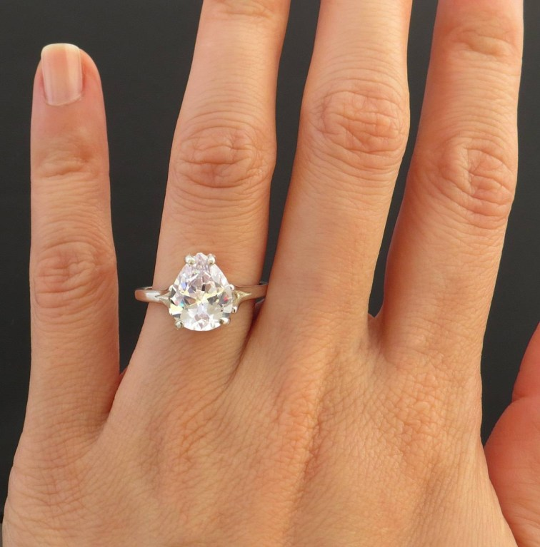 engagement ring life wear weddings carat would you diamond an