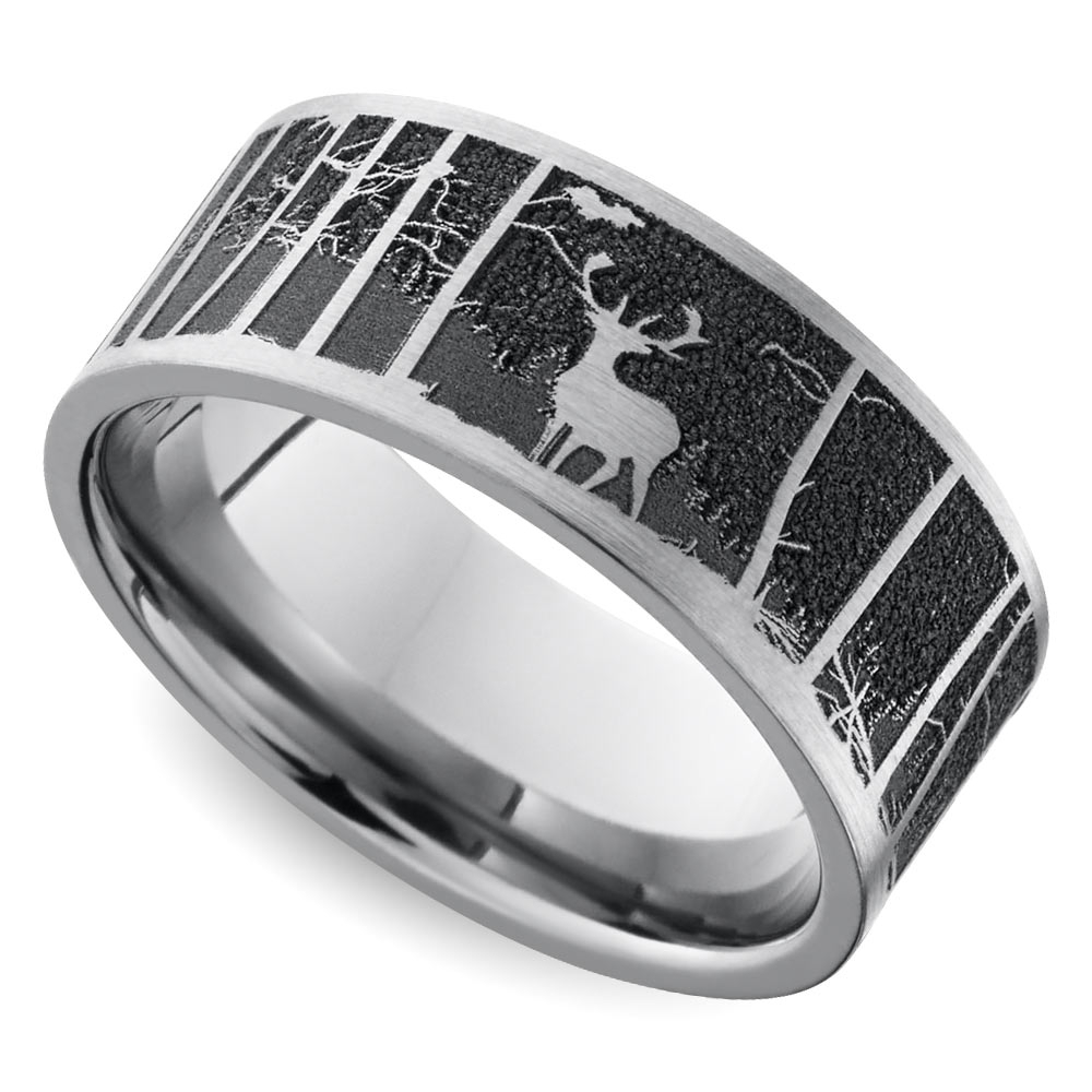 2018 Popular Mens Outdoor Wedding Bands