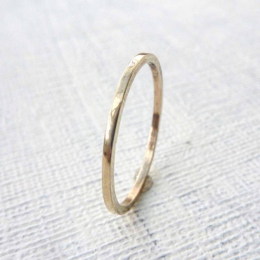 15 Best Of Mens Thin Wedding Bands